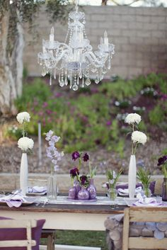 Purple Vintage Ombre Inspired Photo Shoot by Bella Destinee  Read more - http://www.stylemepretty.com/california-weddings/2012/05/10/purple-vintage-ombre-inspired-photo-shoot-by-bella-destinee/