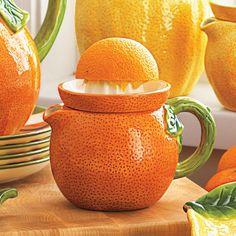 orange juice squeezer