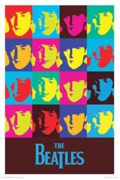 The Beatles - Pop Art (24x36) - MUS57008