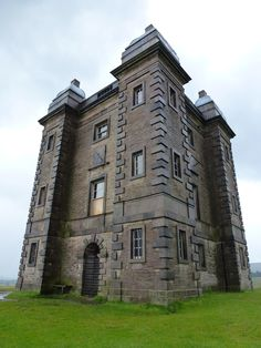 The Cage at Lyme Park, Disley, Cheshire ~ ok it's not a cabin, but could be a forest fortress ~