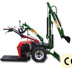 BM - Industrial Agricultural Machines - Production - Micro Excavator