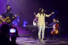 Breathe on us, Holy fire fall Come and fill this place with Your presence Like a rushing wind Send Your spirit here Breath of Heaven breathe on us Breath of Heaven breathe on us! ♫