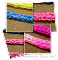 Receitas Círculo - I cord - rabo de gato em crochê