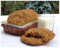 Le+palais+gourmand:+Biscuits+à+la+mélasse+et+au+flocons+d'avoine