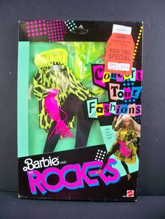 Barbie Doll Fashions 1986 Vntg Barbie and The Rockers Concert Tour 3394 | eBay