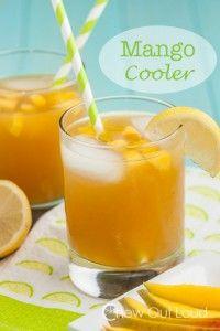 Mango Cooler Cocktail