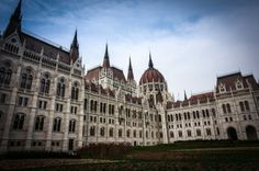 Hungarian Parliament Building Budapest Hungary.
