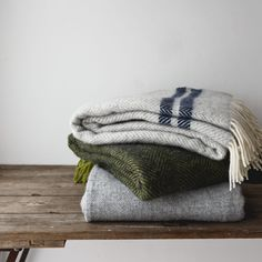 Cosy British Made Herringbone Throws. #cosy #throw #blanket
