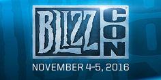 Blizzard dio a conocer las fechas de la Blizzcon 2016 http://j.mp/1WnwrpY |  #Blizzard, #BlizzCon, #EstadosUnidos, #Noticias, #Tecnología, #Videojuegos