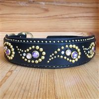 Big dog collars made for big dogs and long necked dogs. Choose from genuine leather, nylon, Swarovski crystal, brass embellishments, studded and more. Or customize your own collar for that large and lovable big dog in your life. Cute Dog Collars, Dog Collars & Leashes, Leather Dog Collars, Dog Leash, Leather Men, Custom Leather, Big Dogs, Large Dogs, Small Dogs