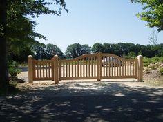 Houten poorten en toegangspoorten | Willemsen Hout uit Opheusden