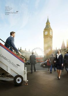 Adeevee - London City Airport: Westminster, Bedroom, Boardroom, Bank