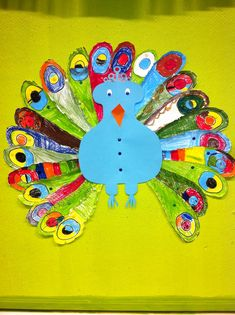 VLL kern 6: PAUW (knutselwerkje) Toddler Themes, Day Camp, Art Classroom, Social Work, Team Building, Art School, Activities For Kids, Workshop, Arts And Crafts