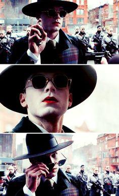 #gotham #jeremiah valeska Gotham Joker, Gotham Tv, Gotham Girls, Gotham Characters, Gotham Villains, Dc Comics, Jerome Valeska, Cameron Monaghan, Joker Cosplay