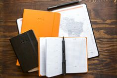 It's never too early to plan ahead! Let Rhodia help you stay organized. Check out the new 2018 Rhodia Webplanners! Pin for later.