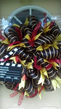 Hollywood Classroom wreath