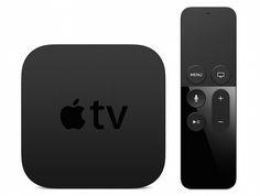 The new Apple TV.