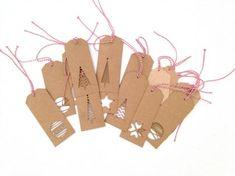 Завершающий штрих к оформлению новогоднего подарка, или какую роль играют бирки - Ярмарка Мастеров - ручная работа, handmade