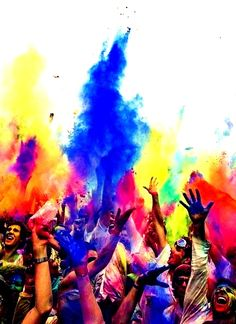 Berlin, Germany celebrated the colorful festival of Holi over the weekend. [Photos] Berlin got a bit colorful over the weekend. On Sunday, those in the German capital celebrated Holi, the festival of colors.