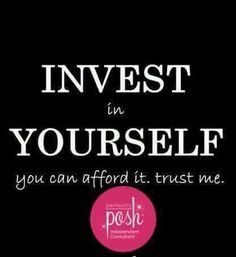 It is so worth the investment to be a Perfectly Posh Independent Consultant. www.facebook.com/kellyposhtexas