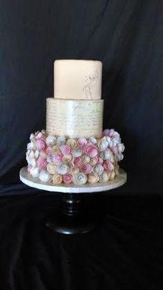Vintage Tinkerbell Cake