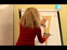 4 Curso de Corte y Confección (Armado de pantalón parte 2 - Cristina Gamez 78 - Altering Clothes, Built In Wardrobe, Sewing Box, Pattern Making, Diy Clothes, Youtube, Fabric, Dresses, Fashion