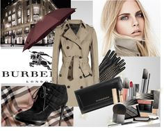 """Burberry"" by bduffy ❤ liked on Polyvore"