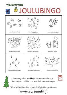 Kids Christmas, Christmas Crafts, Pre School, Bingo, Kindergarten, Bullet Journal, Teaching, Education, Kindergartens
