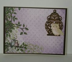 Everyday card using Heartfelt Creations sugar hollow collection.