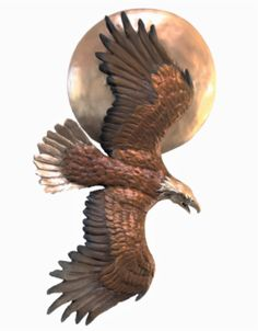 90 Or Nothing - The Bronze Art of Chris Navarro Bronze Sculpture, Sculpture Art, Eagle, Sun, The Eagles, Vulture, Eagles