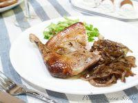 Roast turkey with caramelized onion