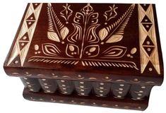 New big nut brown wooden puzzle box jewelry box magic box mystery box secret box tricky trinket box handcarved box hidden place Wooden Puzzle Box, Wooden Puzzles, Wooden Boxes, Big Jewelry, Wooden Jewelry, Jewelry Box, Harry Potter Jewelry, Secret Box, Magic Box