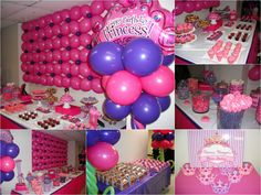 Princess Party - Balloon Decor - Bunch of Balloons