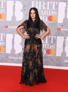 337747b2603 Lily Allen In Coach - The BRIT Awards 2019 - Red Carpet Fashion Awards