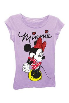 Minnie Mouse Tee (Little Girls)