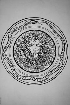 Medusa / Tattoo Design