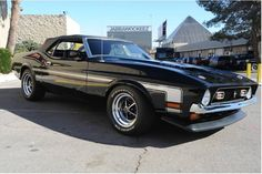 1972 Ford Mustang Mach 1 - beautiful strong