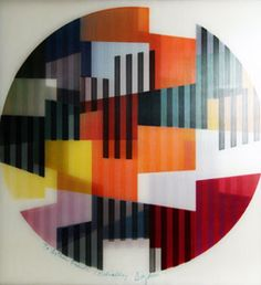 Untitled Agamograph by Yaacov Agam