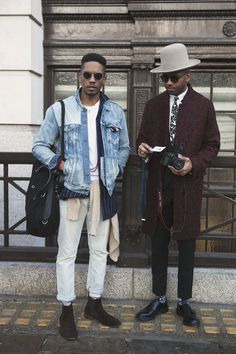 Mens fashion week street style