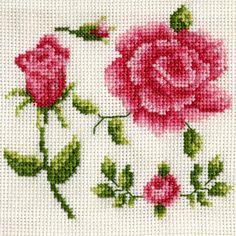cross sticth rose pattern | Cross Stitch Roses | Flickr - Photo Sharing!