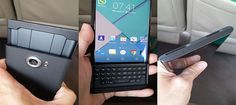 New BlackBerry's Android-powered Venice Phone Surface
