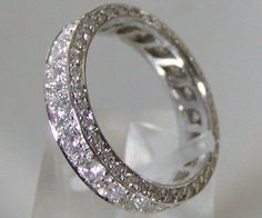 all around diamond wedding band.    https://www.facebook.com/MauriceJewelry