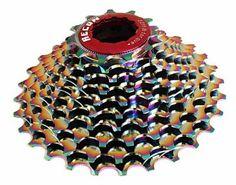 11-27 Alum Kassette, - 11 fach für Campagnolo 11S/ EPS Rainbow.