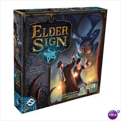 Tabletop Game <3. Elder sign is an amazing co-op game!