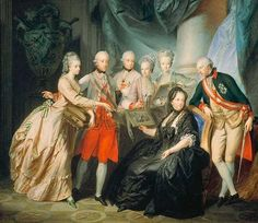 Maria Theresa and her four sons