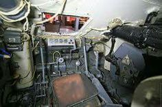 The Tiger Pz VI from inside