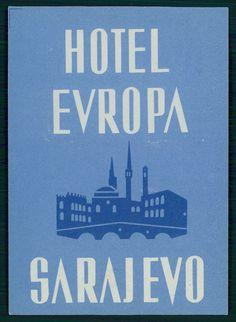 Hotel Evropa, Sarajevo
