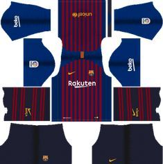 Barcelona Kits - Dream League Soccer Kits Barcelona kits for Dream League Soccer and the package . Barcelona Football Kit, Barcelona Fc Logo, Barcelona 2018, Barcelona Jerseys, Barcelona Soccer, Soccer Kits, Football Kits, Sport Football, Soccer Sports