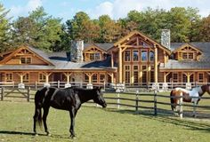 this houses..this horse farm...waterfront is where you would find me if i ever appeared on lifestyles of the rich and who cares about famous