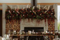 Moody and Stylish Winter Wedding at Kauri Bay Boomrock Christmas Wreaths, Christmas Tree, Winter Wedding Decorations, Auckland, Storytelling, New Zealand, Wedding Styles, Wedding Flowers, Wedding Photography